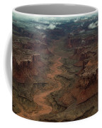 Ariel Photograph During A Spring Storm Coffee Mug