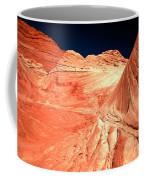 Arizona Sandstone Waves And Lines Coffee Mug
