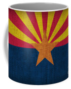 Arizona State Flag Coffee Mug by Pixel Chimp