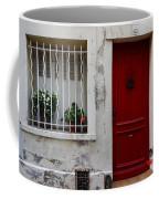 Arles House With Red Door Dsc01806  Coffee Mug