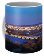 Arlington, Va - Wash D.c. - Panoramic Coffee Mug