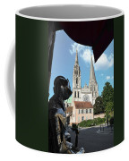 Armor And Chartres Cathedral Coffee Mug