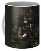 Army Soldier With Security Screen Saver Coffee Mug