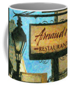 Arnauds New Orleans_oil Digital Art Coffee Mug