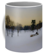 Aronimink Golf Club In The Snow Coffee Mug