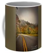 Around The Bend Clouds Along The Blue Ridge Parkway Coffee Mug
