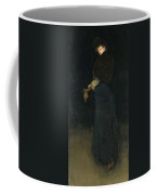 Arrangement In Black. The Lady In The Yellow Buskin Coffee Mug