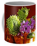 Arrangement On Squash Coffee Mug