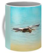 Arrival - Blue Heron - Wildlife Coffee Mug
