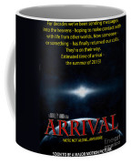 Arrival Faux Movie Poster Coffee Mug