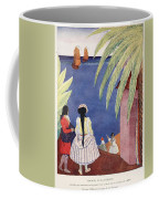 Arrival Of The French Frigates Coffee Mug
