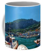 Arrival To Capri Coffee Mug