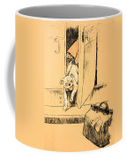 Arriving At Our Destination Coffee Mug by Cecil Charles Windsor Aldin