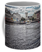 Arriving At The Boardwalk Before The Storm Coffee Mug