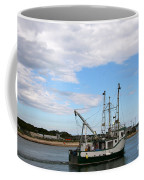 Arriving At The Harbor Coffee Mug