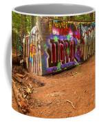 Art Along The Cheakamus River Coffee Mug
