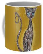 Cat Art Coffee Mug