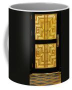 Art Deco Door Coffee Mug