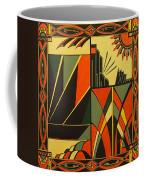Art Deco In Orange Coffee Mug
