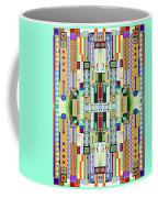 Art Deco Stained Glass 2 Coffee Mug