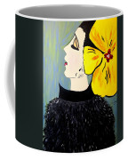 Yellow Bow Coffee Mug