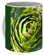 Art E. Choke - Artichokes By Diana Sainz Coffee Mug