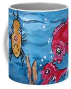 Fish Art Coffee Mug