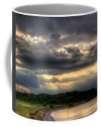 Art For Crohn's Lake Ontario Sun Beams Coffee Mug