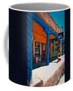Art Gallery In Taos Coffee Mug