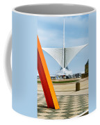 The Milwaukee Art Museum By Santiago Calatrava Coffee Mug