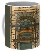 Art Nouveau Doorway In Ljubljana Coffee Mug