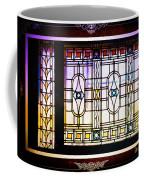 Art-nouveau Stained Glass Window Coffee Mug