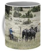 Art Of Horse Plowing Coffee Mug
