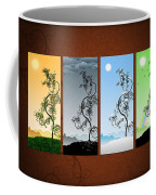 Art On The Wall Coffee Mug by Gianfranco Weiss