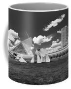 Art Over A Field Of Grey Coffee Mug