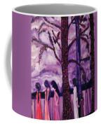 Art Purple Rain Coffee Mug