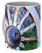 Artful Wagon Wheel Coffee Mug
