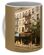 Arthur Avenue In The Bronx Coffee Mug