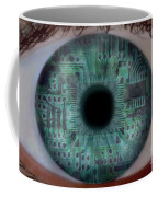 Artificial Intelligence Coffee Mug by Mike Agliolo