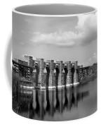 Artisan Lakes Bridge 1bw Coffee Mug