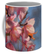 Artisic Painterly Cherry Blossoms Spring 2014 Coffee Mug