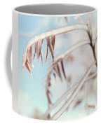 Artistic Abstract Closeup Of Frozen Tree Branches Coffee Mug