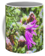 Artistic Aster In First Snow Fall 2 Imp 2-2 Coffee Mug