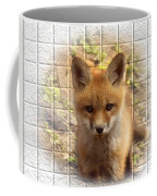 Artistic Cute Kit Fox Coffee Mug