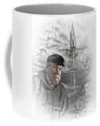 Artistic Digital Image Of An Old Sea Captain Coffee Mug