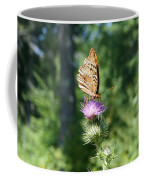 Artistic Butterfly Stand  Coffee Mug