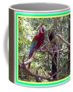 Artistic Wild Hawaiian Parrot Coffee Mug