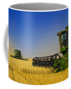 Artists Choice Two Combine Harvesters Coffee Mug