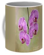 Artsy Phalaenopsis Orchids Coffee Mug