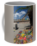 Artwork At Street Market In Curacao Coffee Mug